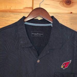 Tommy Bahama Arizona Cardinals 100% Silk Shirt XXL